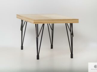 Table of solid wood IFUX find us on https://www.facebook.com/RaWoodpl/