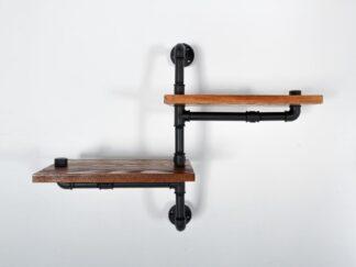 Shelf made of solid wood DENAR find us on https://www.facebook.com/RaWoodpl/