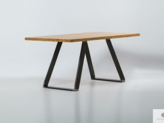 Table made of solid wood Calla find us on https://www.facebook.com/RaWoodpl/
