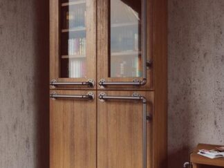 Two door cabinet of solid wood DENAR find us on https://www.facebook.com/RaWoodpl/