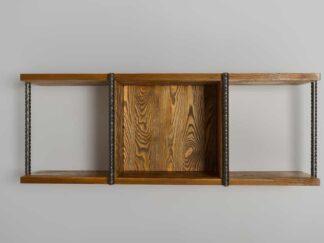 Solid wood hanging shelf HEGEL find us on https://www.facebook.com/RaWoodpl/