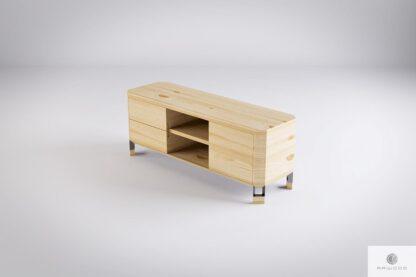 Cabinet under TV of pine wood BRISTOL find us on https://www.facebook.com/RaWoodpl/