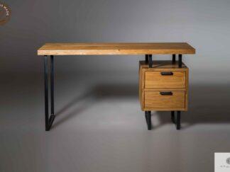 Desk of oak wood to office law firm HUGON find us on https://www.facebook.com/RaWoodpl/