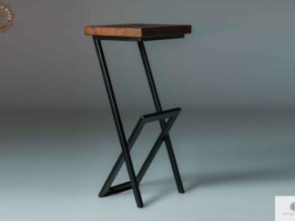 Wooden barstool to kitchen dining room HUGON find us on https://www.facebook.com/RaWoodpl/