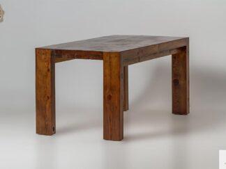 Rustykalny stol ze starego drewna sosnowego do jadalni DRACO