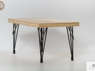 Stol z jesionowego drewna do jadalni i salonu IFUX