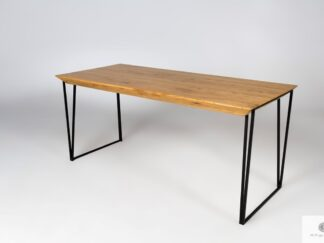Stol debowy elegancki do jadalni salonu ARES