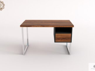 Desk of old solid wood to office NESCA II find us on https://www.facebook.com/RaWoodpl/