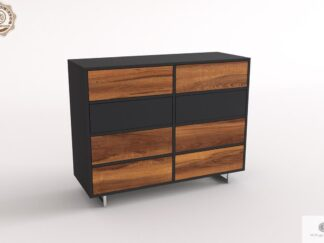 Elegant solid wood chest of drawers to living room NESCA II finden Sie uns auf https://www.facebook.com/RaWoodpl/