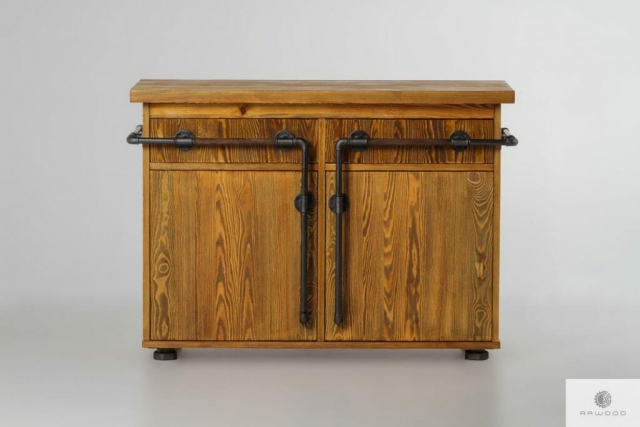 Chest of drawers of solid wood DENAR find us on https://www.facebook.com/RaWoodpl/