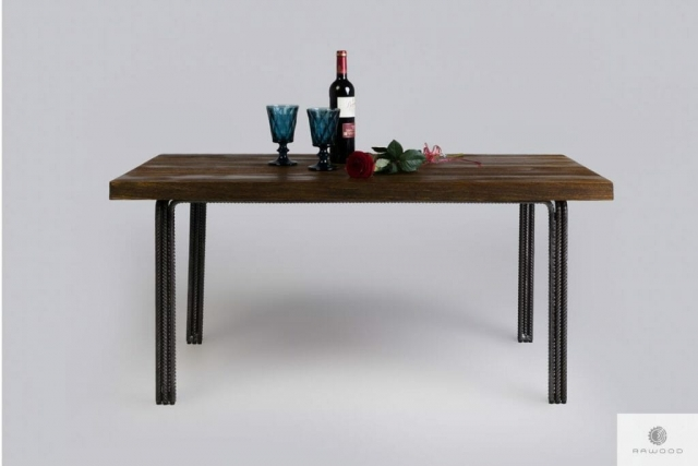 Coffee table of pine wood to living room HEGEL find us on https://www.facebook.com/RaWoodpl/