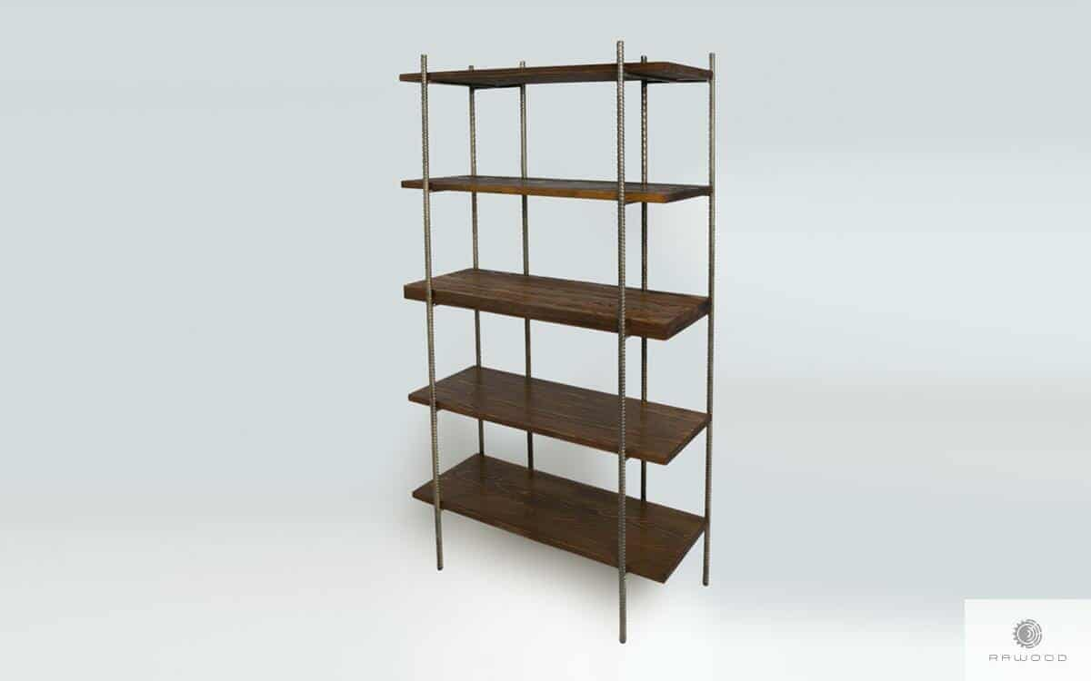 Bookcase of solid wood to room HEGEL find us on https://www.facebook.com/RaWoodpl/