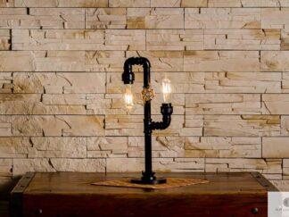 Metal bedroom lamp find us on https://www.facebook.com/RaWoodpl/