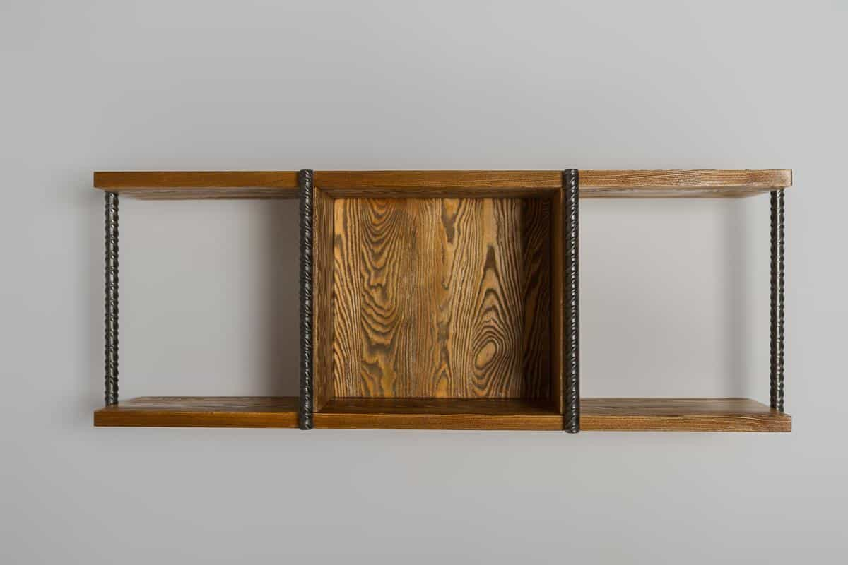 Solid wood hanging shelf HEGEL find us on https://www.facebook.com/RaWoodpl/