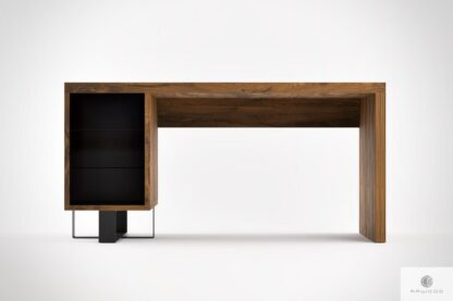 Solid wood desk home office MOCCA