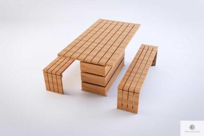 Wooden garden bench of solid wood GARDEN Furniture Manufacturer RaWood Premium Furniture