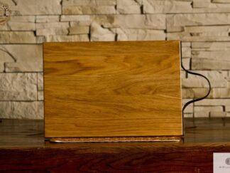 Debowa deska do krojenia z drewna litego