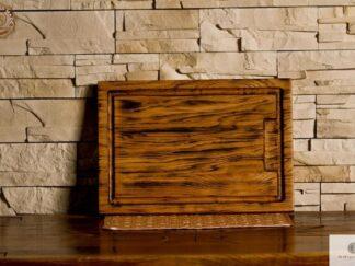 Deska do krojenia z drewna litego