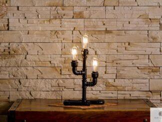 Industrialna lampka z metalu DENAR