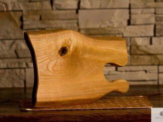 Jesionowa deska do krojenia z drewna litego