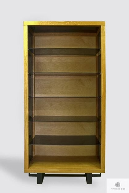 Wooden display cabinet to office MOCCA