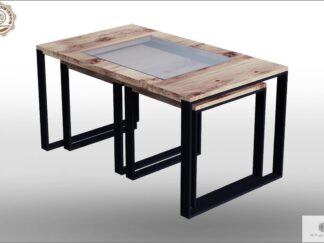 Coffee table of solid wood to living room IBSEN Furniture Manufacturer RaWood Premium Furniture