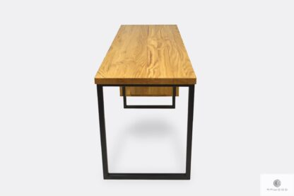 Desk with wooden tabletop modern solid HUGON