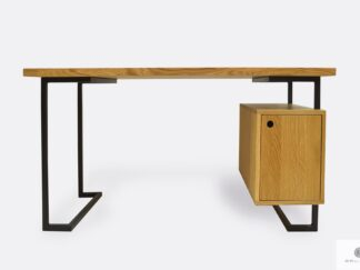 Oak computer desk to office law firm OLIMPIA