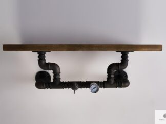 Wooden wall shelf to living room DENAR