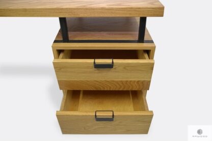 Wooden desk with drawers to office HUGON