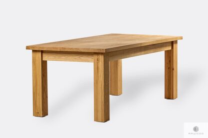 Wooden oak table to dining room THOR