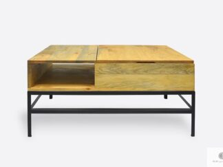 Wooden coffee table to living room ASTOR