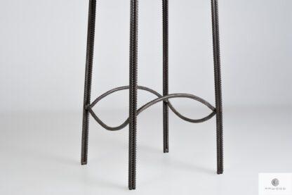 Hoker industrialny z nogami stalowymi z drutu HEGEL