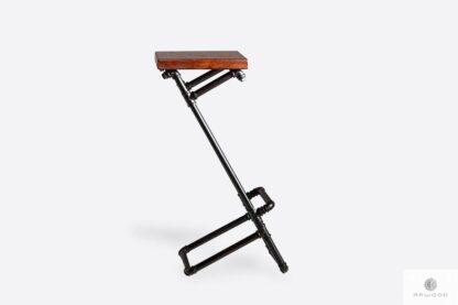 Barstool on metal leg to kitchen dining room DENAR