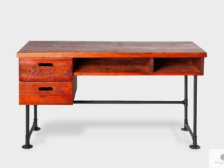 Industrial desk of solid wood to room office DENAR