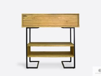 Modern oak side table to hallway OLIMPIA