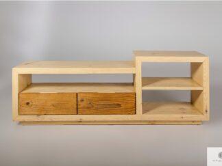 Original TV cabinet of old wood to living room IKSJA