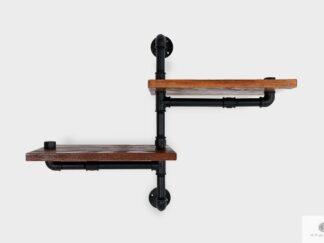 Solid wood shelf to living room DENAR