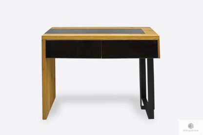 Modern wooden console table side table to hallway MOCCA