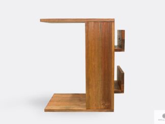 Side table of solid wood to living room