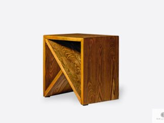 Side table of solid wood to living room bedroom