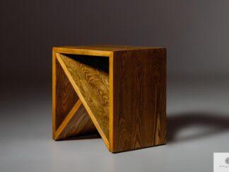 Pomocnik stolik pomocniczy z drewna litego do salonu sypialni