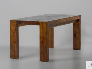 Rustic table of old wood to dining room DRACO