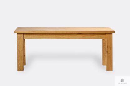 Oak table for order THOR