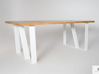 Scandinavian oak table of solid wood to dining room ELEGANT