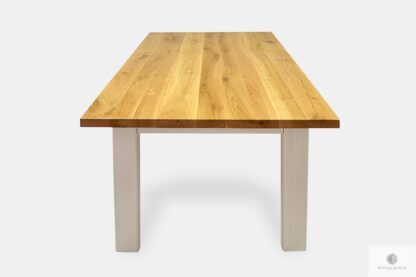 Wooden table for size to living room dining room BIANCO