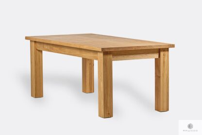 Wooden table for size to living room THOR