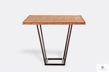 Table with wooden tabletop for order LIBRO