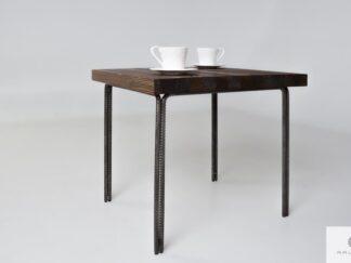 Stolik kawowy z drewna litego do salonu i pokoju HEGEL