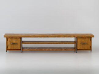 Wooden rustic TV cabinet to living room HEGEL